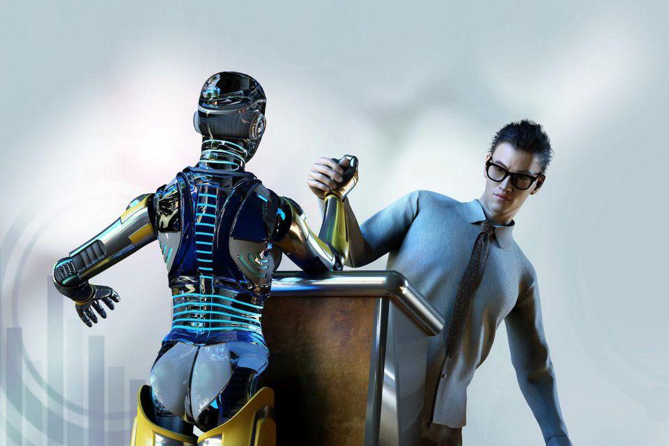 Arbeitsorganisation: Mensch versus Maschine